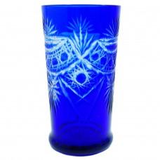 Стакан синее стекло Б/У 3175