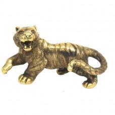 Фигурка Тигр малый бронза латунь 1493