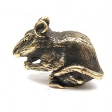 Фигурка Крыса (латунь бронза) 2035