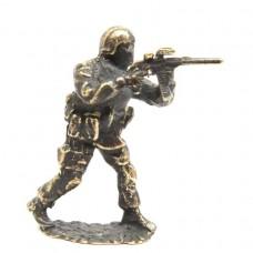 Фигурка Спецназ бронза 2128