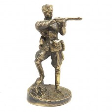 Статуэтка Партизан Советская Армия бронза латунь 2400