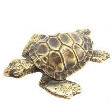 Фигурка Черепаха морская (латунь, бронза)