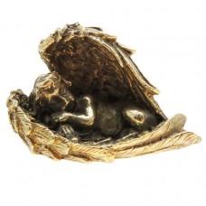 Фигурка Спящий Ангел латунь бронза 2478
