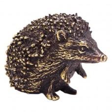 Фигурка миниатюрная Ежик (латунь, бронза) 3077