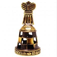 Колокольчик Шахматы Король (латунь, бронза) 1118774