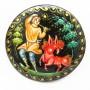 Брошь Конёк-Горбунок живопись ручная работа 1734