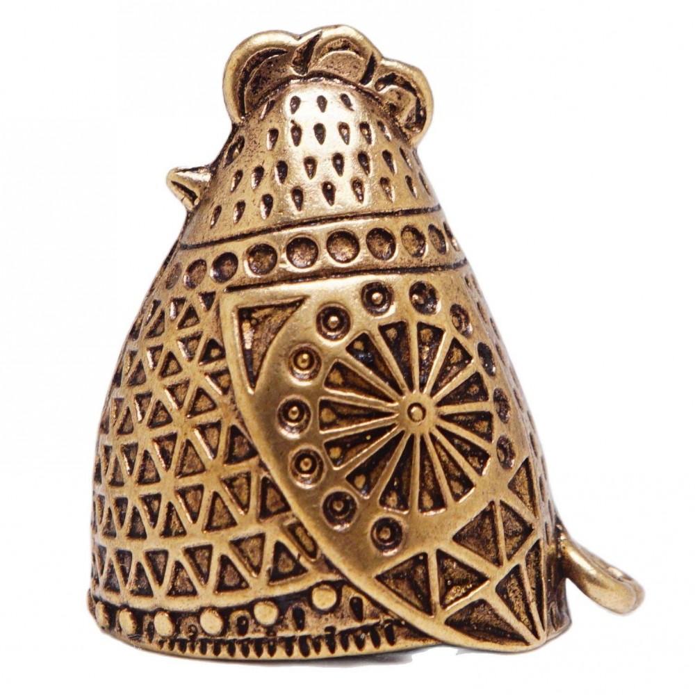 Напёрсток подарочный Курочка  бронза 27