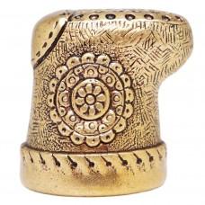 Напёрсток Валенок бронза 358