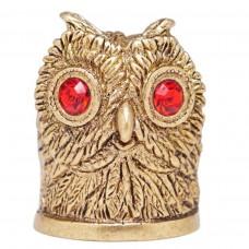 Напёрсток Сова глазастая бронза 361