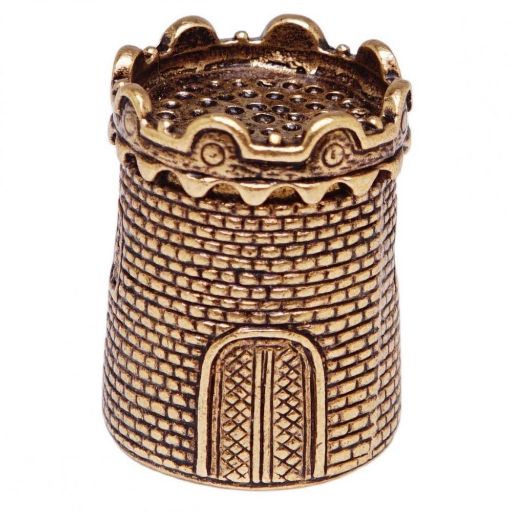 Напёрсток Старинная Крепость (латунь, бронза) 364