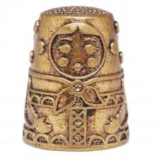 Напёрсток Матрёшка (латунь бронза) 367