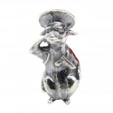 Кошельковая Мышка Военный полицейский посеребрение 478
