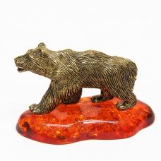 Фигурка Медведь большой Янтарь