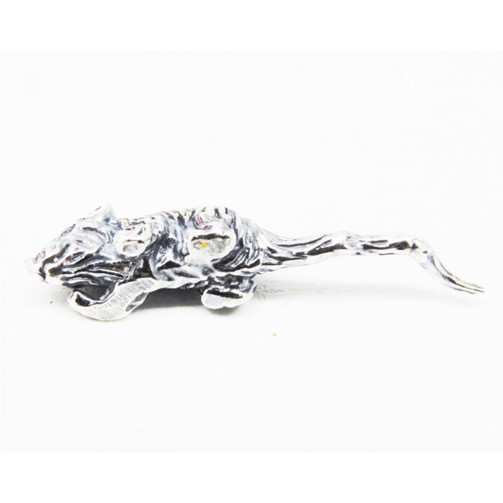 Миниатюрная Кошельковая Мышка с покрытием серебром 12мк